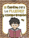 Spanish Reading Comprehension Passages/ Lectura,  comprension y fluidez