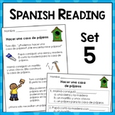 Spanish Reading Comprehension Passages ~ Level Five