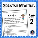Spanish Reading Comprehension Passages and Questions {The Second Set}