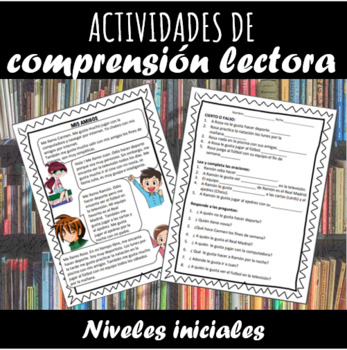 Spanish Reading Activities.