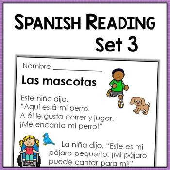 spanish reading comprehension passages with text based questions level three. Black Bedroom Furniture Sets. Home Design Ideas