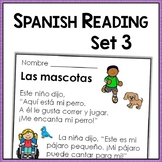Spanish Reading Comprehension Passages with Text-Based Questions - Level Three