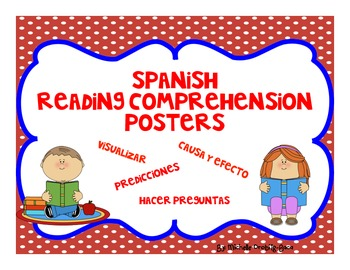 Spanish Reading Comprehension Posters