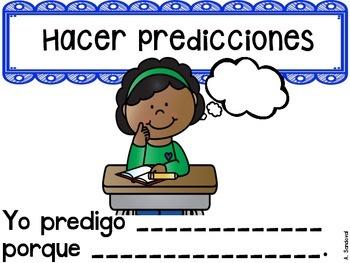 Spanish Reading Comprehension Posters comprensión
