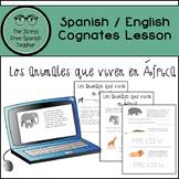 Spanish Reading Comprehension Practice- Cognates! Comprehe