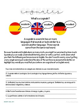Epic image pertaining to free printable spanish reading comprehension worksheets