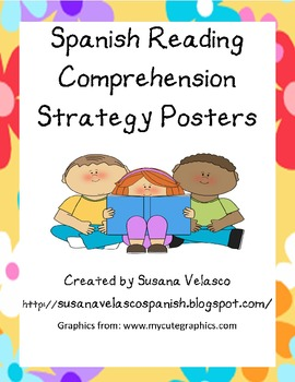 Spanish Reading Comprehension Strategy Posters