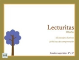 Spanish Reading Comprehension Writing Autum Fall EFL ELL ESL Lecturitas  EASEL