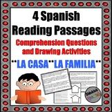 Spanish Reading Comprehension and Speaking Activity: La fa