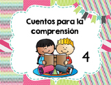Spanish Reading Comprehension and fluency Stories- Set 4