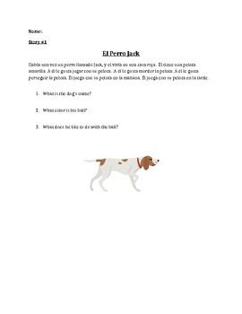 Spanish Reading Comprhension