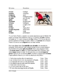 El Toreo Lectura y Cultura - Reading on Spanish Bullfighting