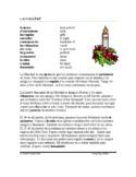 La Navidad y El día de las velitas Lectura ~ Spanish Readi