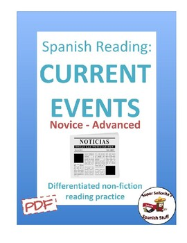 Spanish Reading: Current Events