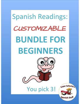 Spanish Reading: Customized Bundle for Beginners