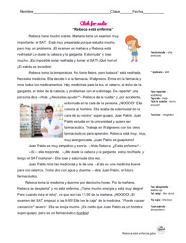 Spanish Reading: Doctor and Health