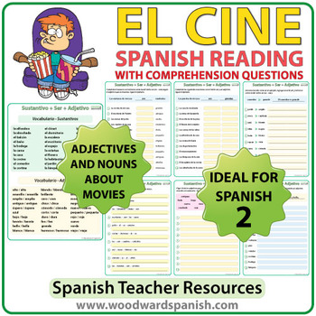 Spanish Reading - El Cine - Lectura