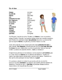 Imperfect vs. Preterite Spanish Reading: En el cine (Imperfecto/Pretérito)
