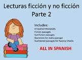 Spanish Reading Fluency Passages Part 2  Fluidez en Espanol Parte 2
