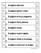 Spanish Reading Fluency Practice Strips (Tiras de fluidez