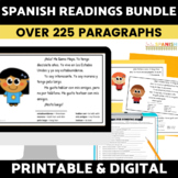 Spanish Reading and Activities BUNDLE | Spanish Reading Co