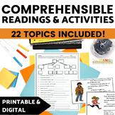 Spanish Reading Gallery Walk BUNDLE with DIGITAL Versions
