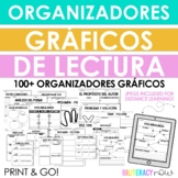 Spanish Reading Response Graphic Organizers! 20 Organizers!