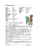 Mis pasatiempos Lectura: Spanish Reading and Worksheet - S