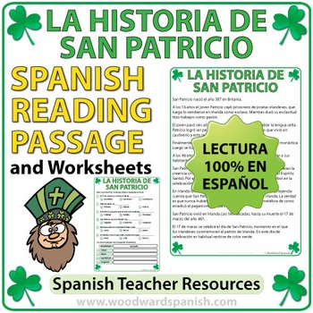 Spanish Reading - La Historia de San Patricio