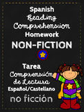 Spanish Reading Logs NON-FICTION~Lectura de español NO FIC