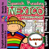 Spanish Reading - Mexico Passages - Translation Sheet adde