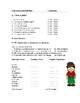 Las Nacionalidades Lectura: Spanish Reading + Worksheet on Nationalities