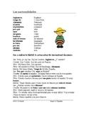 Nationalities in Spanish Reading + Worksheet: Las Nacionalidades