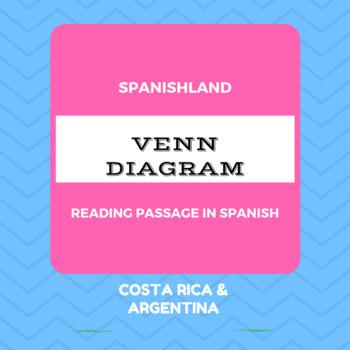 Spanish Reading Passage Venn Diagram By Spanishland Tpt