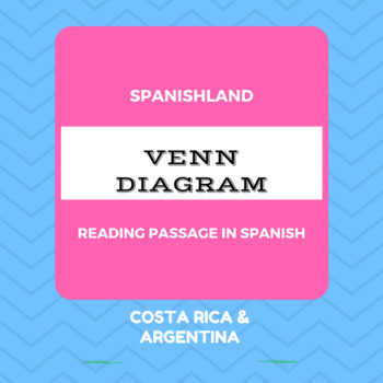 Spanish Reading Passage | Venn Diagram