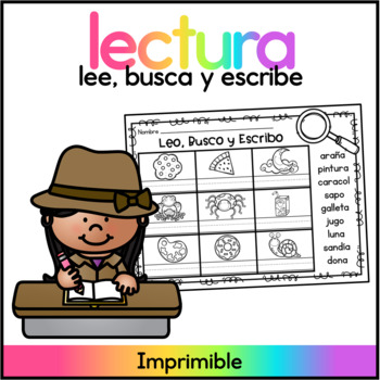 Spanish Reading Practice - Fichas de Lectura