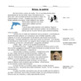 Spanish Reading: Present Progressive