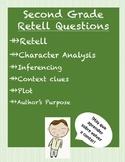 Spanish Reading Questions - Retell