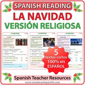 Spanish Reading - Religious Christmas Stories