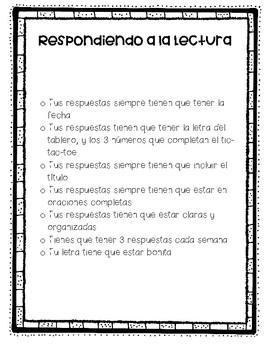 Spanish Reading Response Center