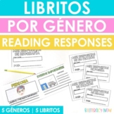 Spanish Reading Response Mini Booklets by Genre