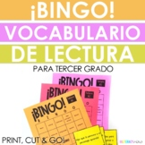 Spanish Reading Test Prep Vocabulary BINGO! Third Grade Vocabulary!