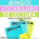 Spanish STAAR Reading Vocabulary BINGO! NEW for Fourth Grade Vocabulary!