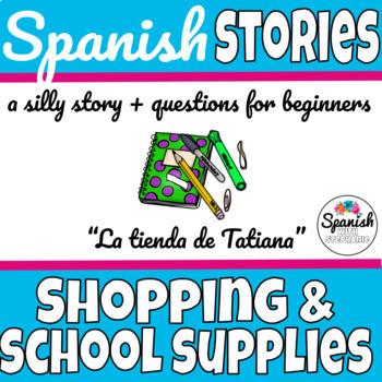 Spanish Reading: School Supplies