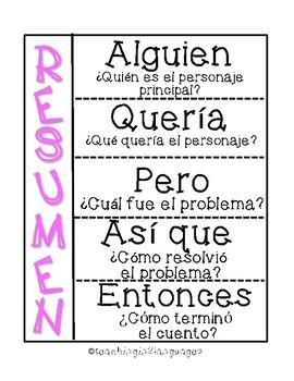Spanish Reading Skills-Interactive Notebook