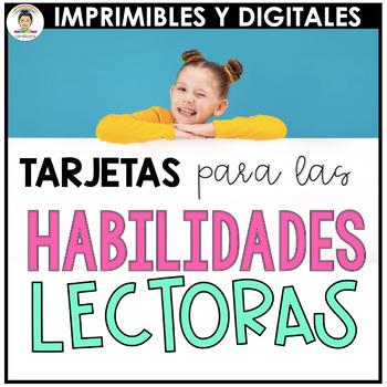 Spanish Reading Skills Task Cards *HUGE BUNDLE 570 TASK CARDS*