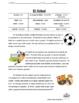 Spanish Reading: Soccer (el fútbol)