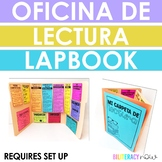 Spanish Reading Lapbook Interactive Oficina de lectura for YEAR LONG USE