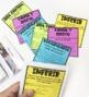 Spanish Reading Strategies Mini Anchor Charts, Takeaways, Small Groups!