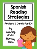 Spanish Reading Strategies Posters and Cards / Estrategias